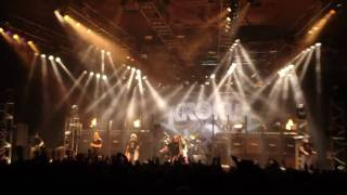 """Krokus live 2010@Stadthalle Sursee """"born to be wild"""""""