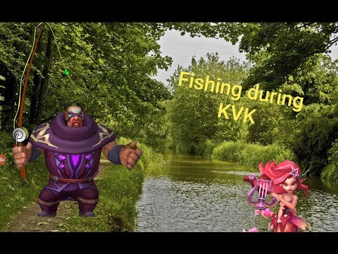 Lords Mobile - Рыбалка на KVK//Fishing//Bo Lan Xing