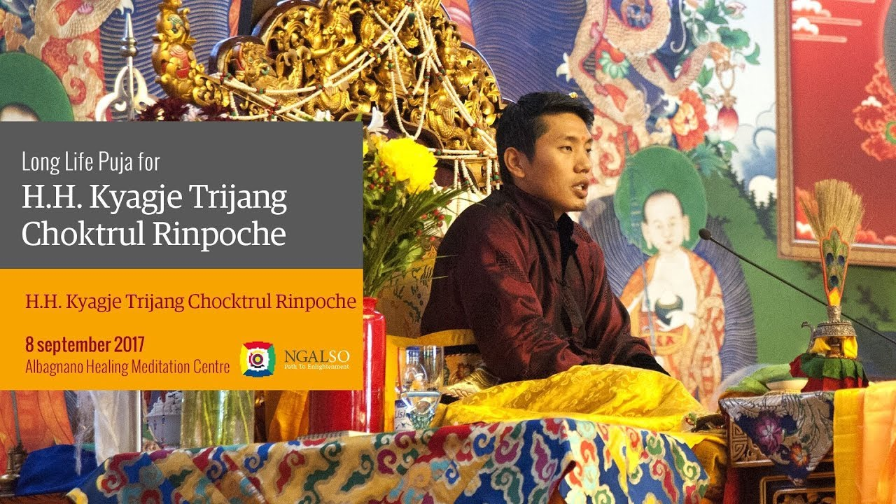 Long Life Puja for H.H. Kyabje Choktrul Trijang Rinpoche