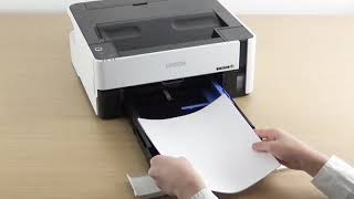 Unpacking and Setting Up a Printer (Epson M1170, ET-M1170) NPD6208