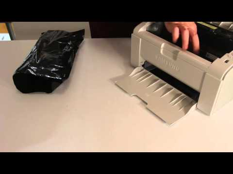 How to replace Samsung Toner Cartridge MLTD101S from Printer ML2165W