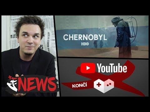 RUSKÁ VERZE CHERNOBYLU, KONEC GAMINGU NA YOUTUBE - AtiNEWS