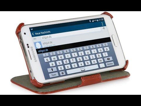 Handytasche für das Samsung Galaxy S5 mit Standfunktion von StilGut