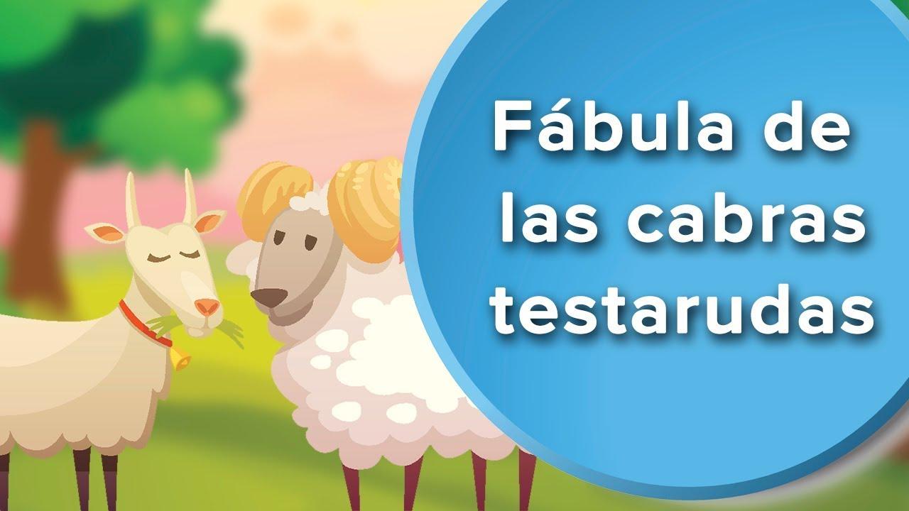 Fábula de las dos cabras | Fábula sobre la terquedad para niños
