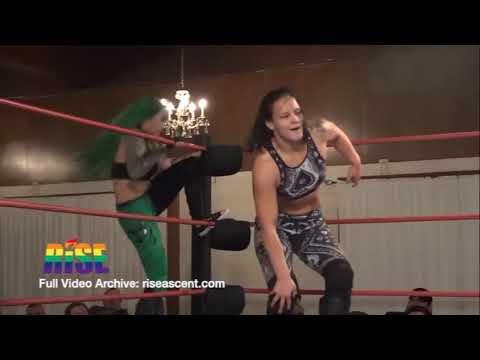 Shotzi Blackheart vs  Shayna Baszler Women's Wrestling from GAIN 1 - STAND WITH KNIGHTS
