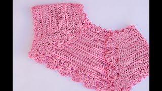 Very Cute And Simple Crochet Bolero #crochet #bolero Crochet