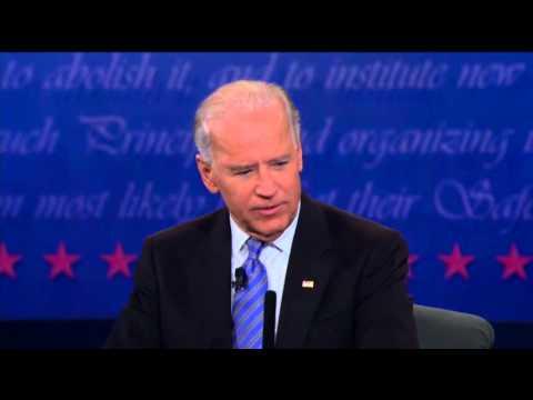 Biden to Ryan: 'That's a Bunch of Malarkey'