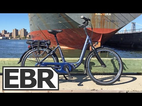 Gazelle Avenue C8 Video Review – Approachable, Relaxed, Comfortable Electric Bicycle
