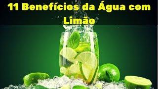 Os Benefícios de Beber Água Com Limão