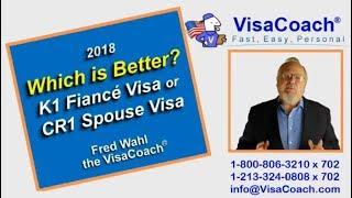 Fiance Visa vs Spouse Visa K1 vs CR1 Which is faster easier cheaper k118 Movie