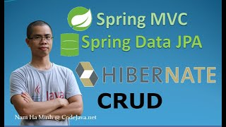 Spring MVC + Spring Data JPA + Hibernate - CRUD Sample Project