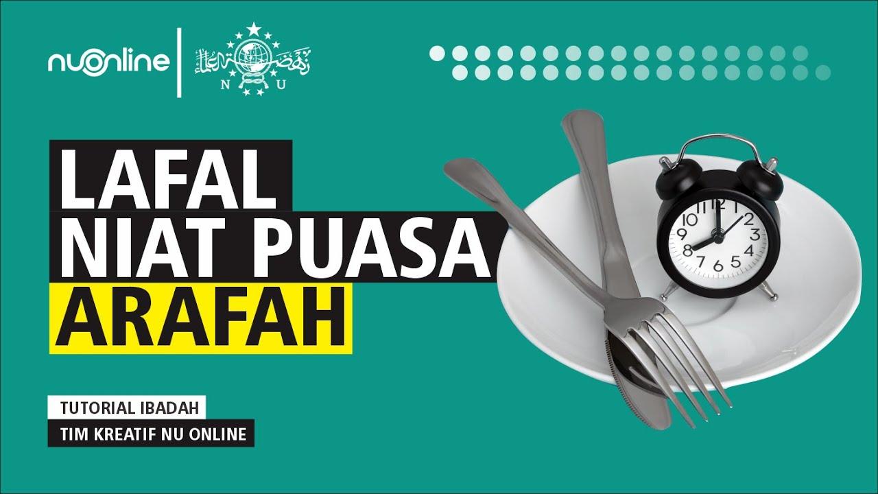 Lafal Niat Puasa Arafah 9 Dzulhijjah