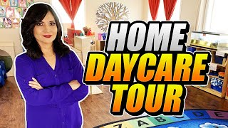 HOME DAYCARE TOUR - DAYCARE PROVIDER - LARGE CHILDCARE