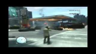 Grand Theft Auto 4 : Niko Hates Long GAS Lines