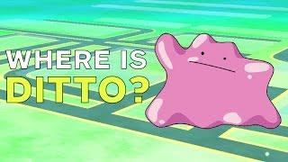 Ditto  - (Pokémon) - Pokemon Go: Where Is Ditto?