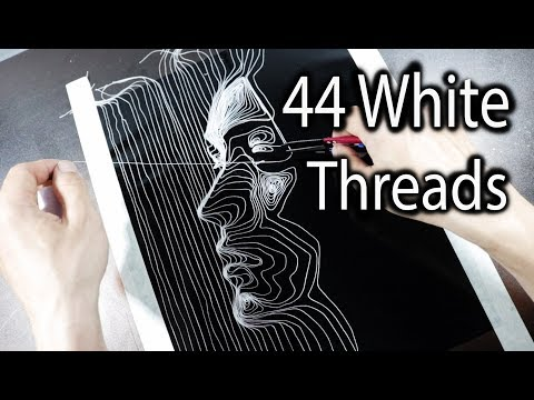 Creating a Portrait with Threads