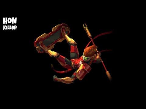 HoN Monkey King Gameplay - Immortal - MechaKing - RazZlak - 2033 MMR