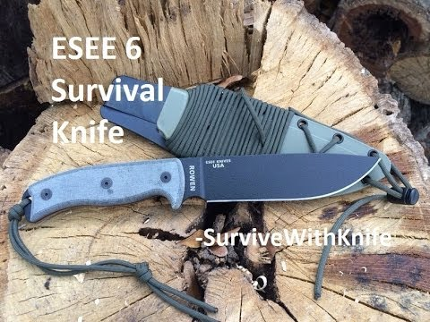 ESEE 6 Survival Knife