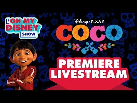 Disney•Pixar's Coco Premiere Livestream | Oh My Disney Show