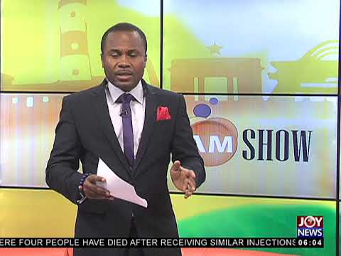 AM Show Intro on JoyNews (5-4-18)