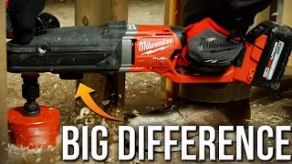 Milwaukee M18 FUEL SUPER HAWG Right Angle Drill (Small Details Make A HUGE Difference)