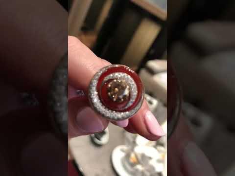 Wow! Unusual diamond ring