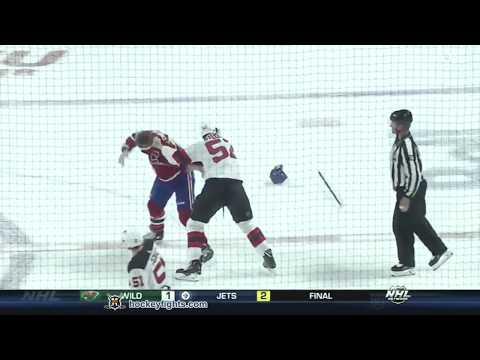 Brandon Baddock vs Nicolas Deslauriers