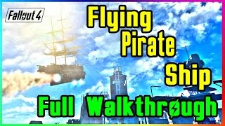 Fallout 4: The Last Voyage of the USS Constitution Walkthrough (FULL GUIDE)