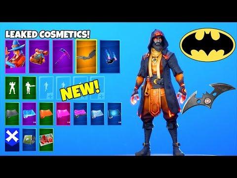 *NEW* BATMAN Free Rewards..! (Bat Glider, Encrypted Batman Skin LEAKED) Fortnite Battle Royale