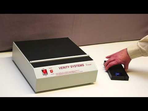 Video of the Verity V94 Video Tape and Reel Data Degausser Shredder