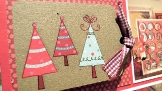 DN3: Cómo hacer una página de scrapbook. Edición de Navidad
