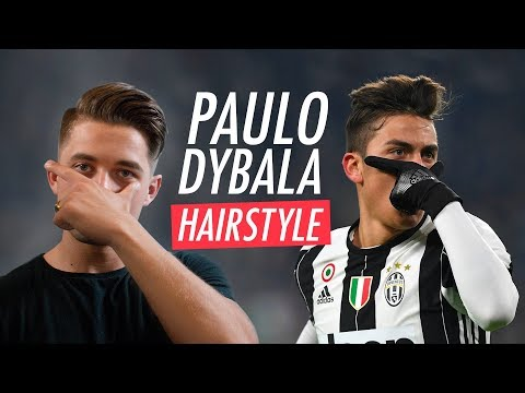 Paulo Dybala Hairstyle 2019 - Men's Football Player Haircut