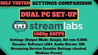 streamlabs obs output settings for twitch - TH-Clip