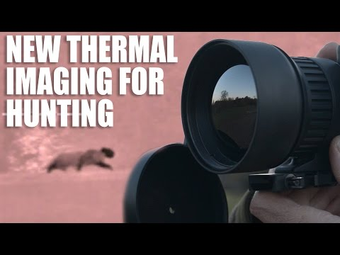Thermal weapon sight for hunters