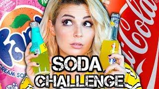 SODA CHALLENGE !! (GÖZLERİMİZ KAPALI)