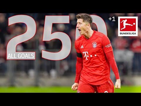 Robert Lewandowski – All 250 Bundesliga Goals
