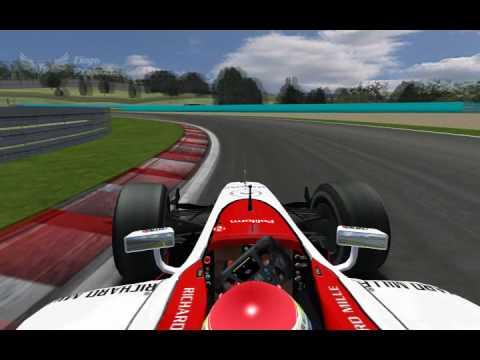 GP2 Onboard - Jules Bianchi - Hungaroring (rFactor