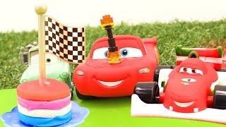 Машинки для мальчиков. Молния Маквин и мультики с игрушками! Вечеринка 🎉  в честь #машинки Маквина!