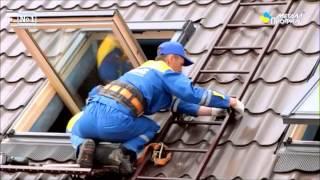 Как сделать складную лестницу на конек крыши