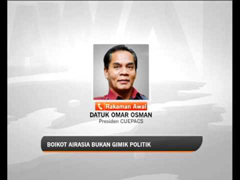 'Boikot AirAsia bukan gimik politik' - CEUPACS