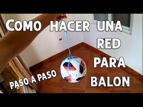 Como hacer una red para balon o pelota -  Freestyle Football Life Online