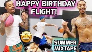 FlightReacts Is A HOOPER HOOPER! Intense 1v1 BATTLES & Workouts With NBA TRAINER! Summer Mixtape 🔥