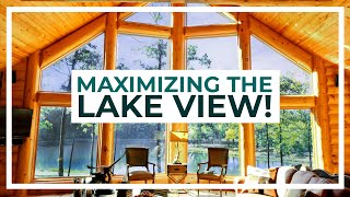 Indiana Log Home Designed For Entertaining!