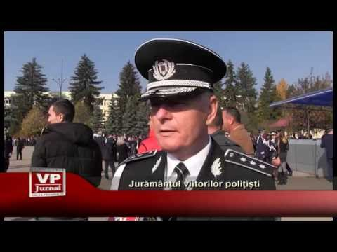 Juramantul viitorilor politisti
