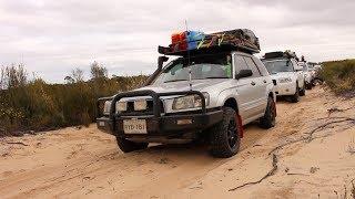 Epic Offroad Subaru Convoy - Border Track Trip Part 2