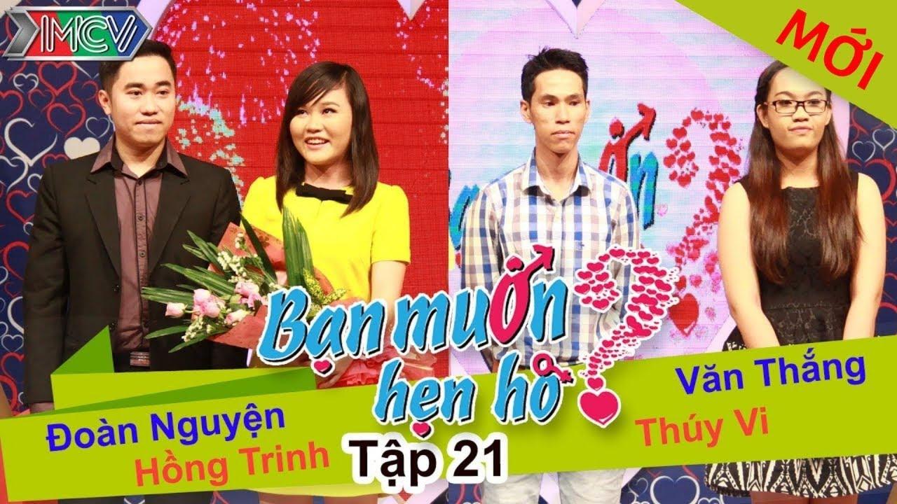 BẠN MUỐN HẸN HÒ #21 UNCUT | Đoàn Nguyện - Hồng Trinh | Văn Thắng - Thúy Vy | 300314 💖