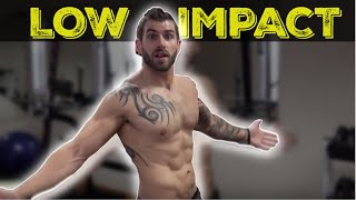 15 Minute Low Impact Home HIIT Workout - (bodyweight only) by TheZeusFitness