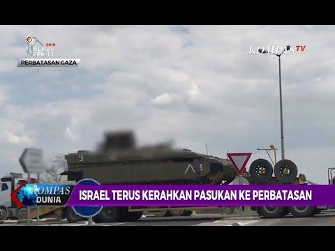 Israel Terus Kerahkan Pasukan ke Perbatasan Gaza