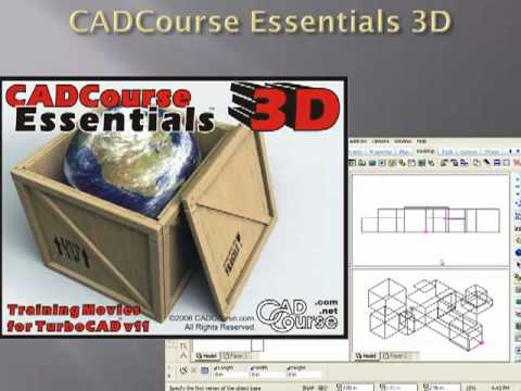 TurboCAD Tutorial Movies for Beginner and Advanced Users ...