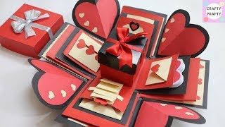 How to make Explosion box / DIY  Valentine